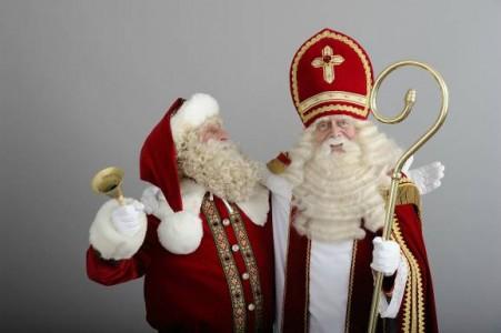 sinterklaas+kerstman